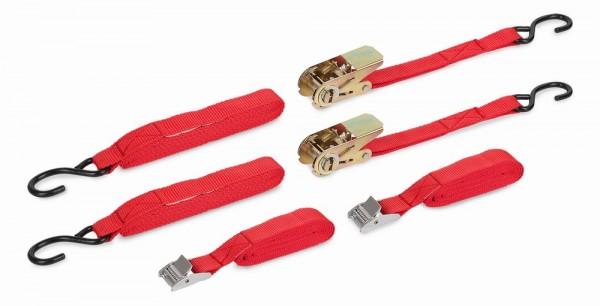 Kreator KRT555004 - Upínací pás ráčnový a upínacící gumy (sada 8ks)
