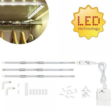 Bezdrátová LED lišta s detektorem pohybu 90 cm MY-84053